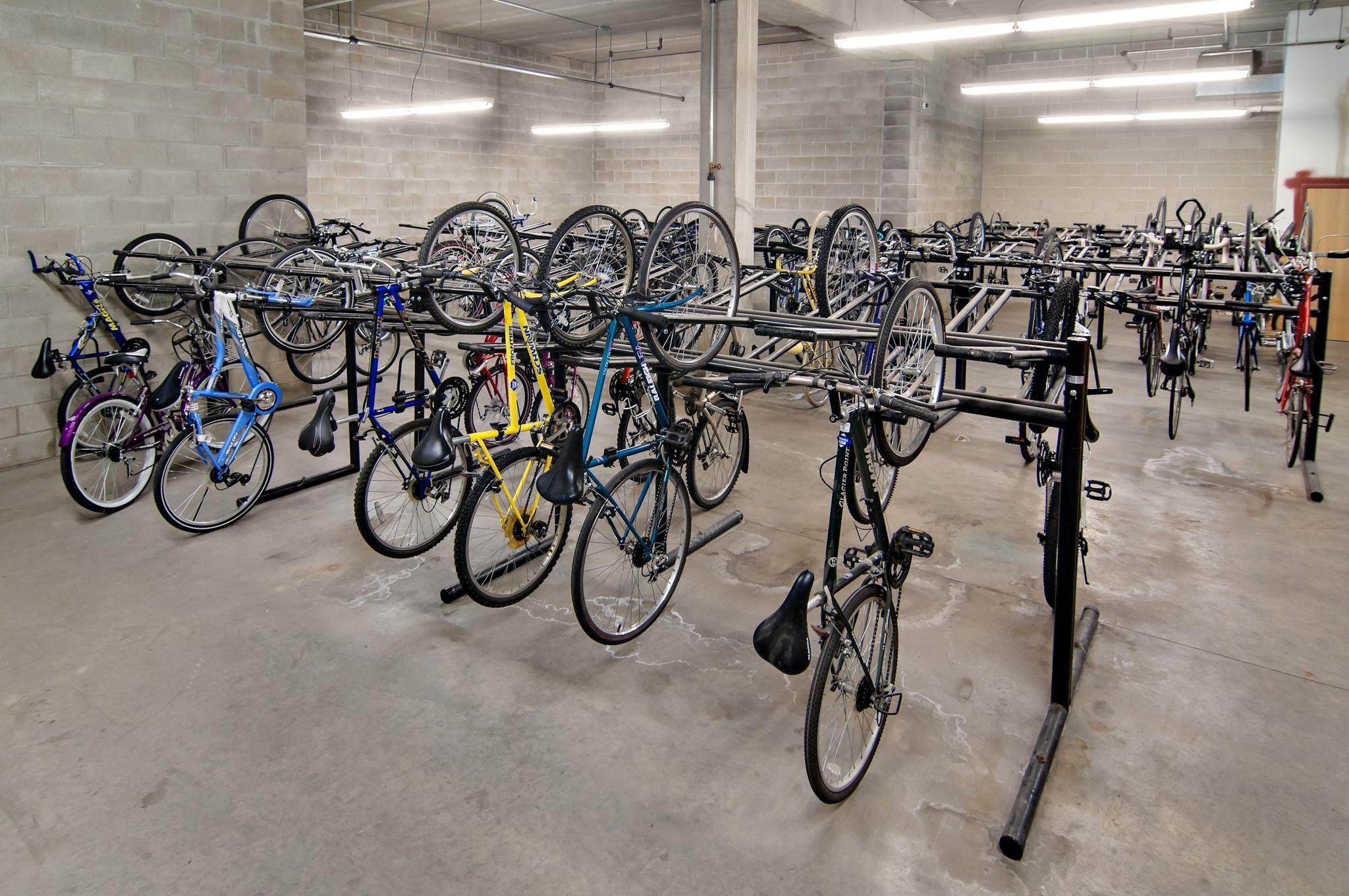 Image of In-door Bike Storage for University Village West