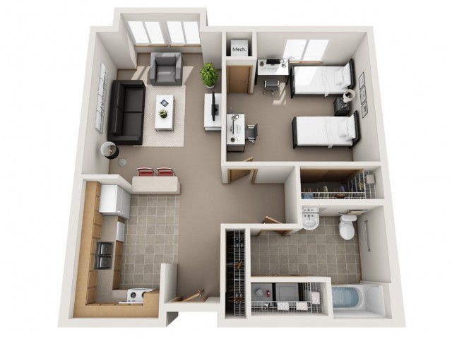 Floor Plan AHCD