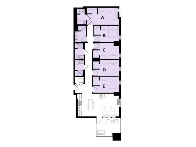 Amethyst 6 Terrace VIP
