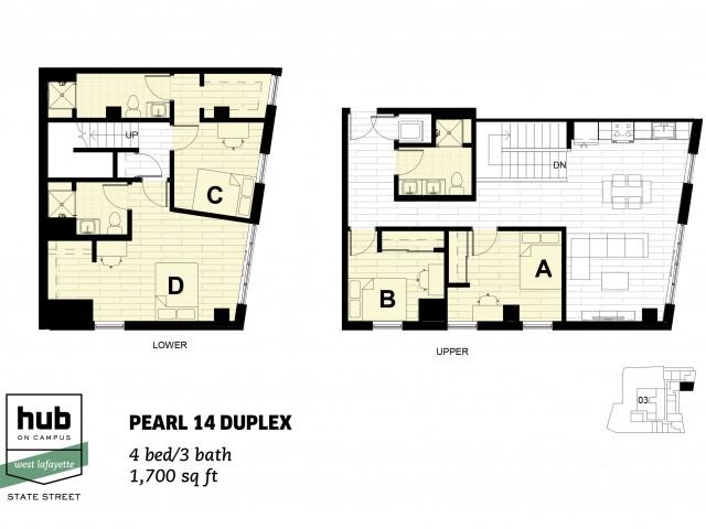 Pearl 14 Duplex