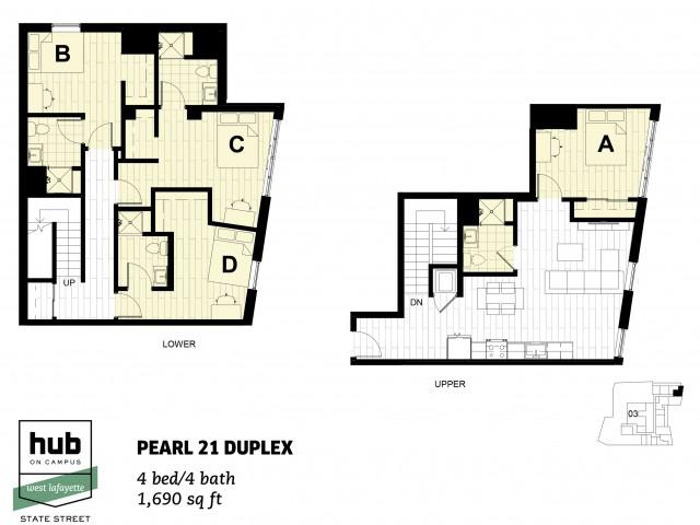 Pearl 21 Duplex
