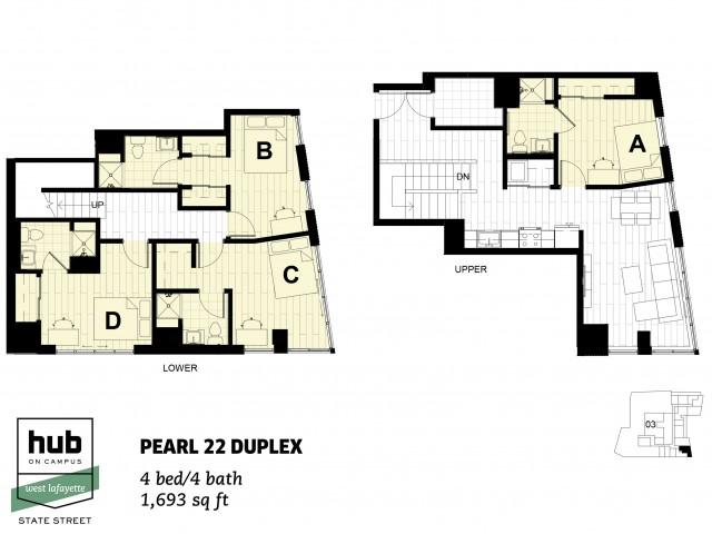 Pearl 22 Duplex