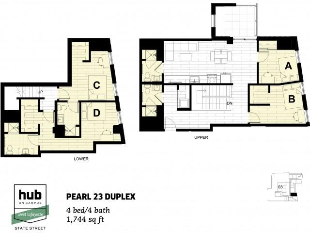 Pearl 23 Duplex Terrace
