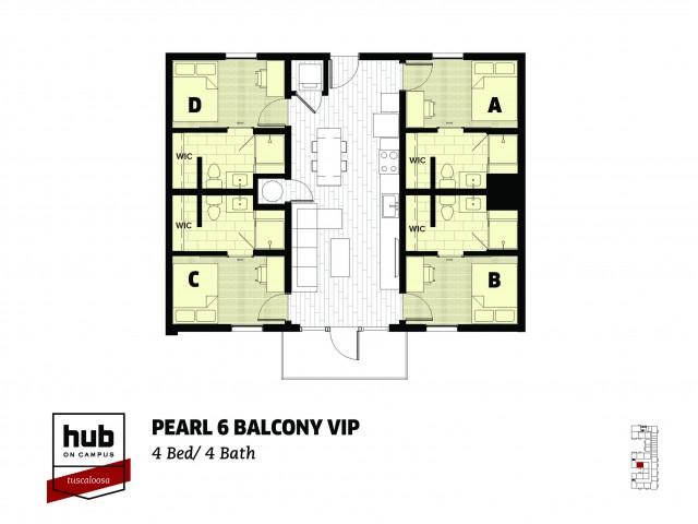 Pearl 6 - Balcony - VIP - Stadium View