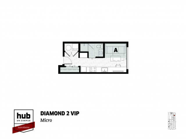 Diamond 2 - VIP - Stadium View