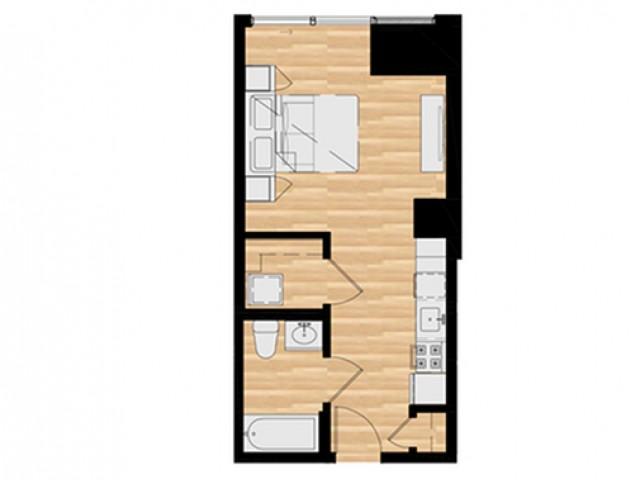 Studio E - Balcony