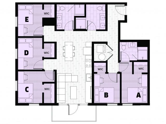 Amethyst 1 - Balcony