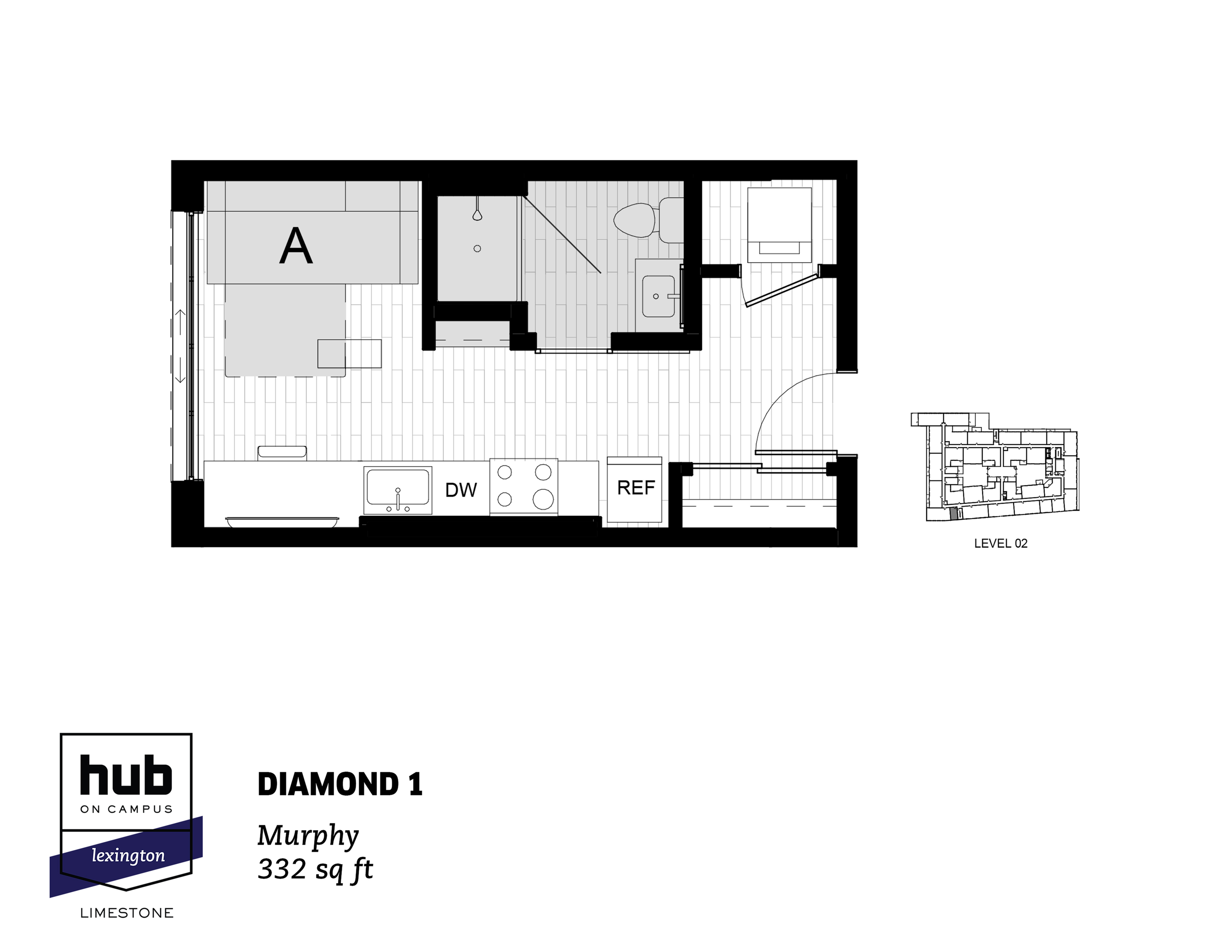 Diamond 1 Floorplan