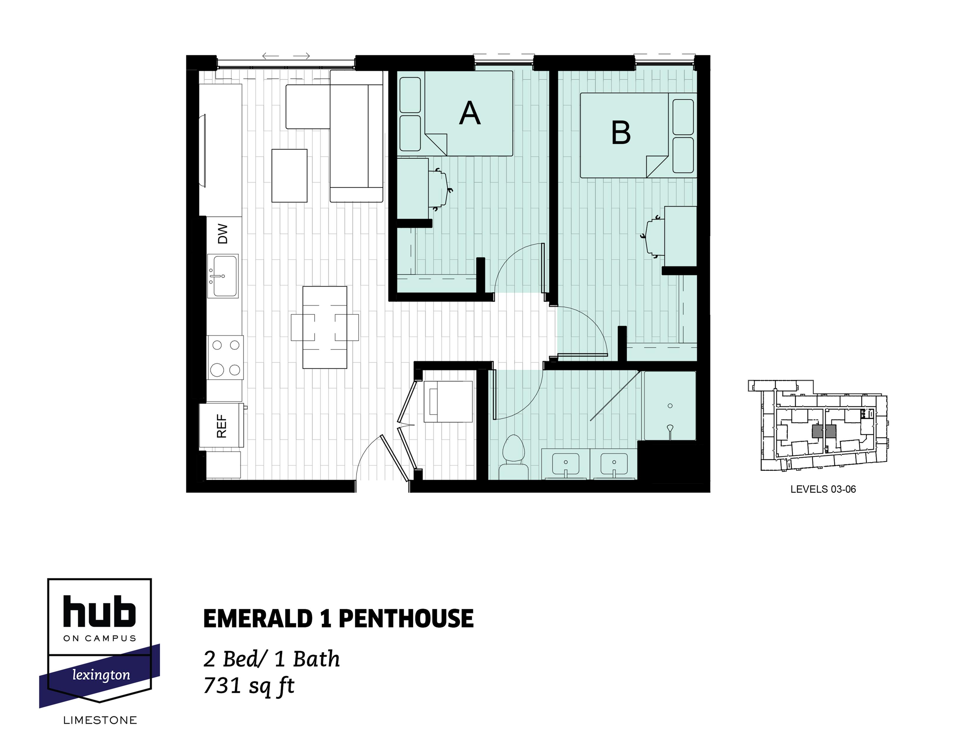 Emerald 1 Penthouse