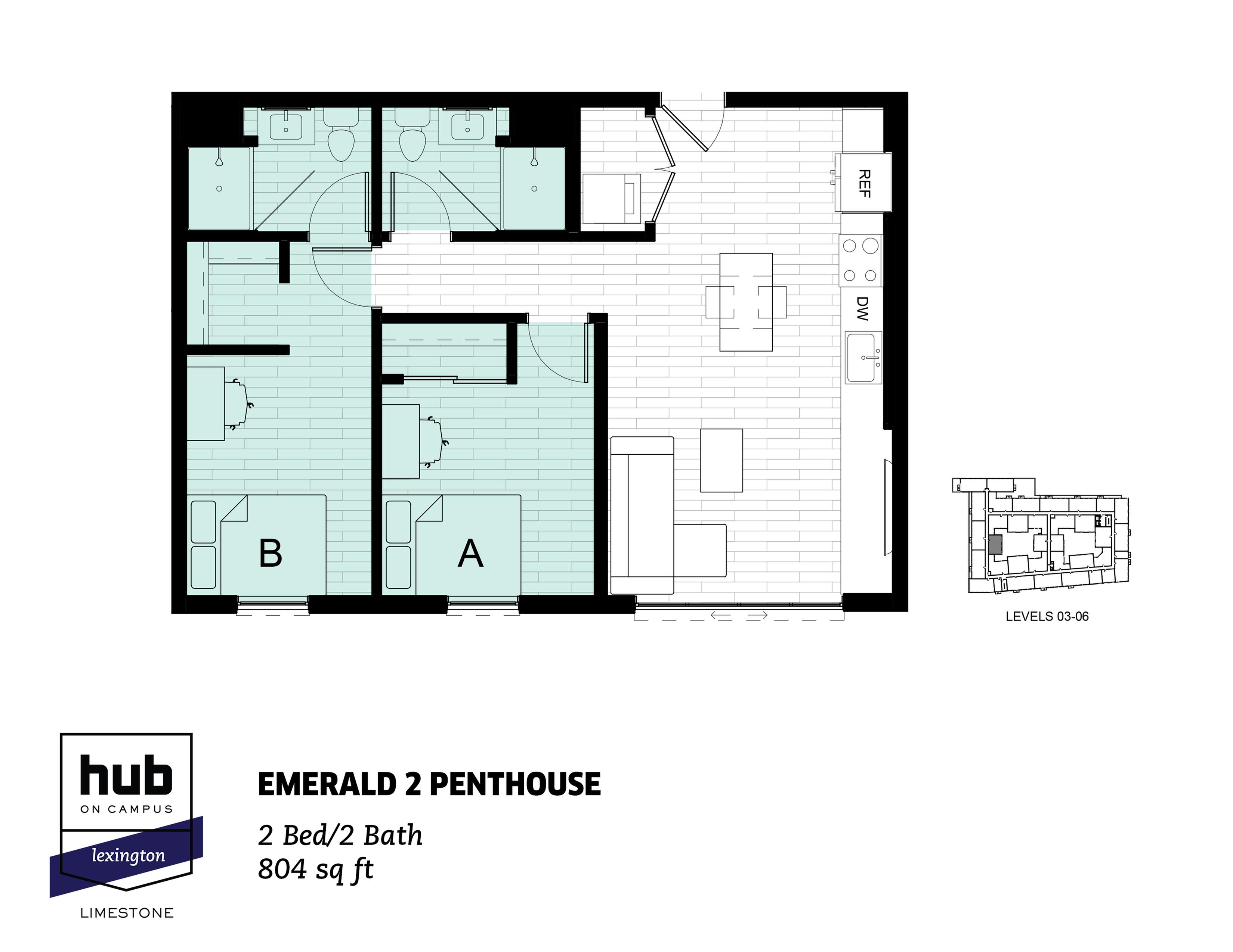 Emerald 2 Penthouse