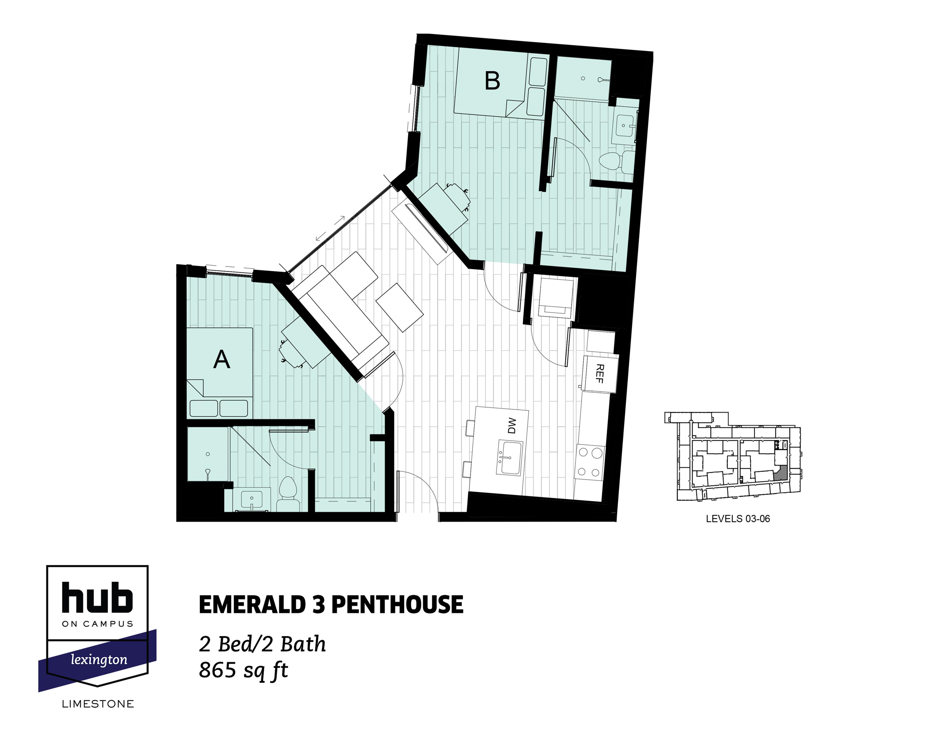 Emerald 3 Penthouse