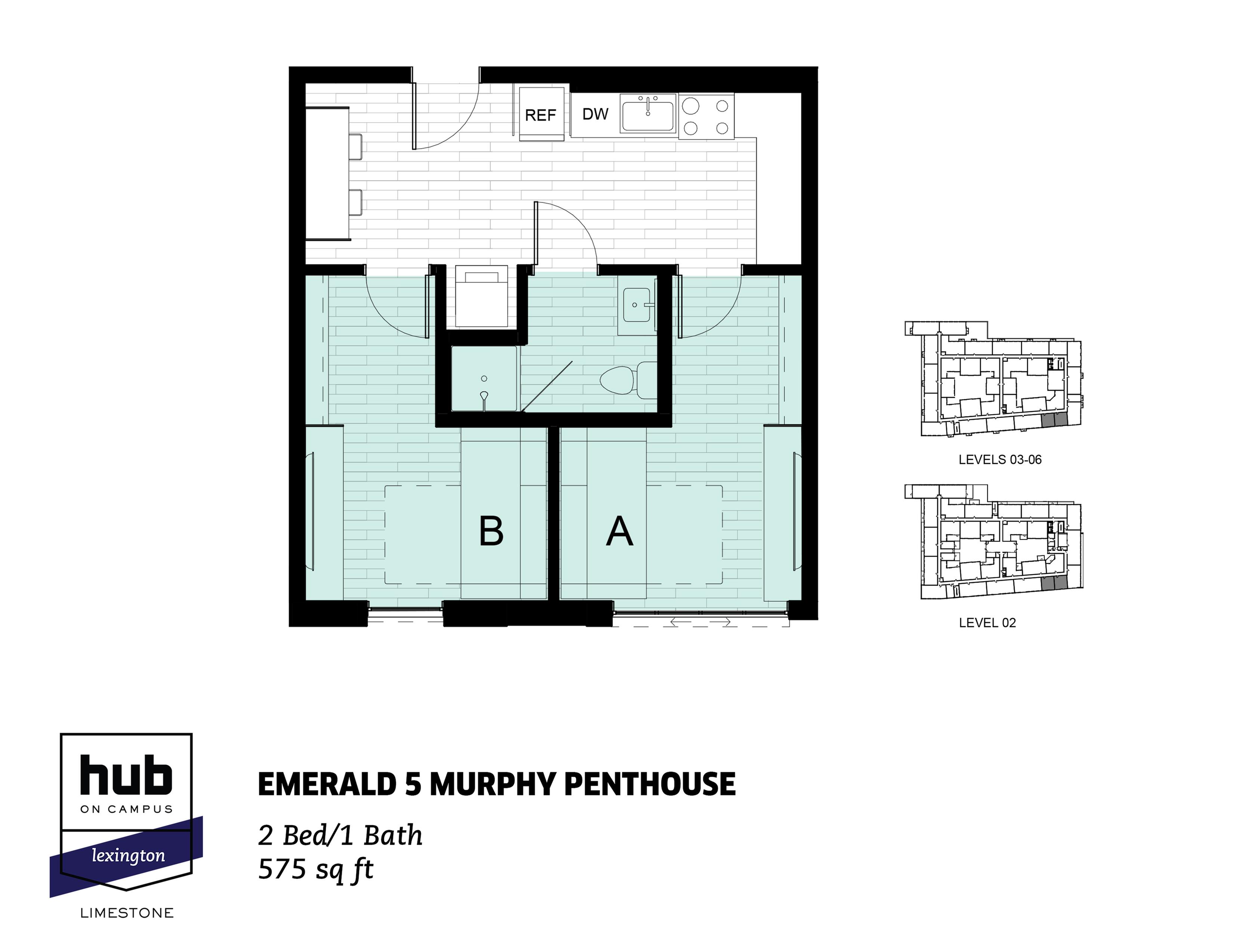 Emerald 5 Murphy Penthouse
