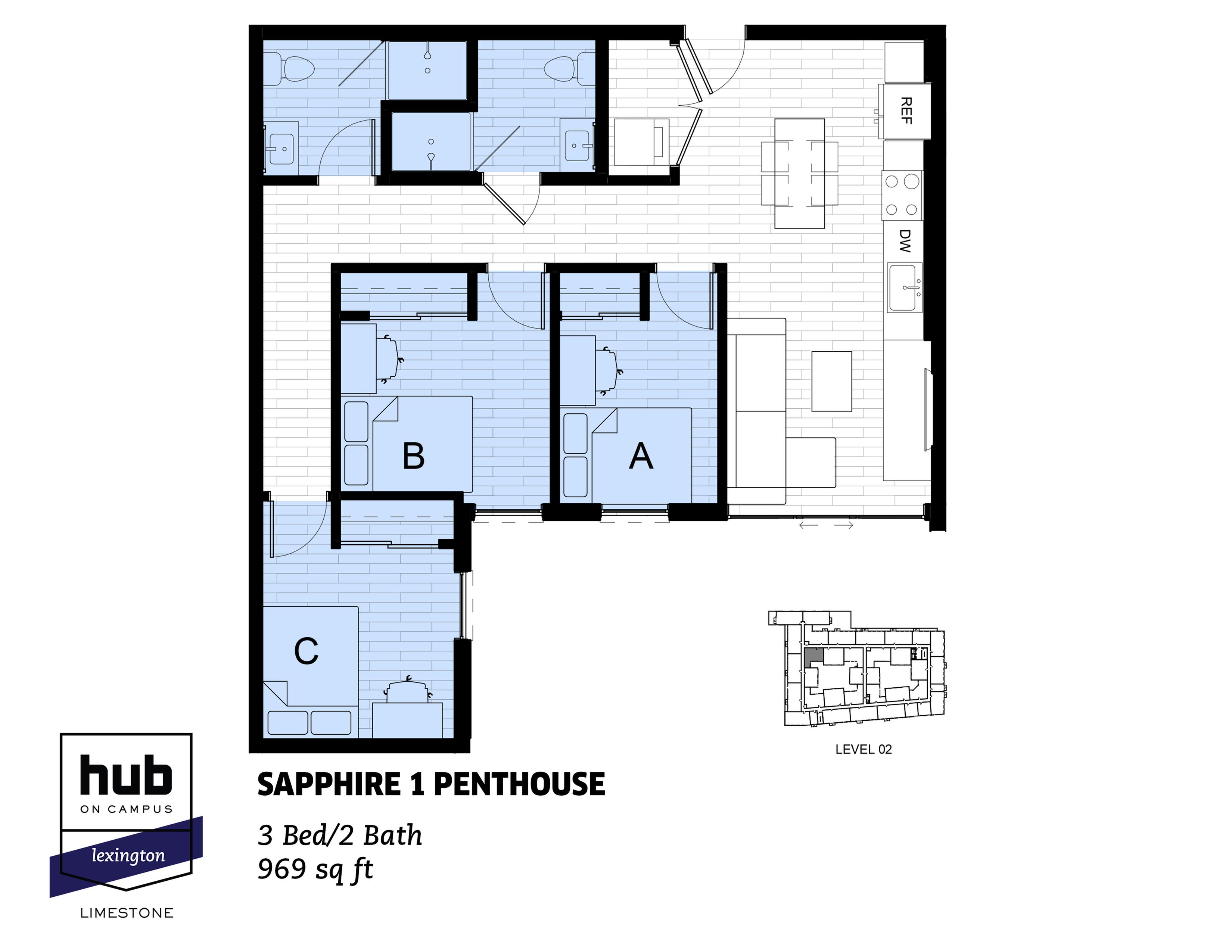 Sapphire 1 Penthouse