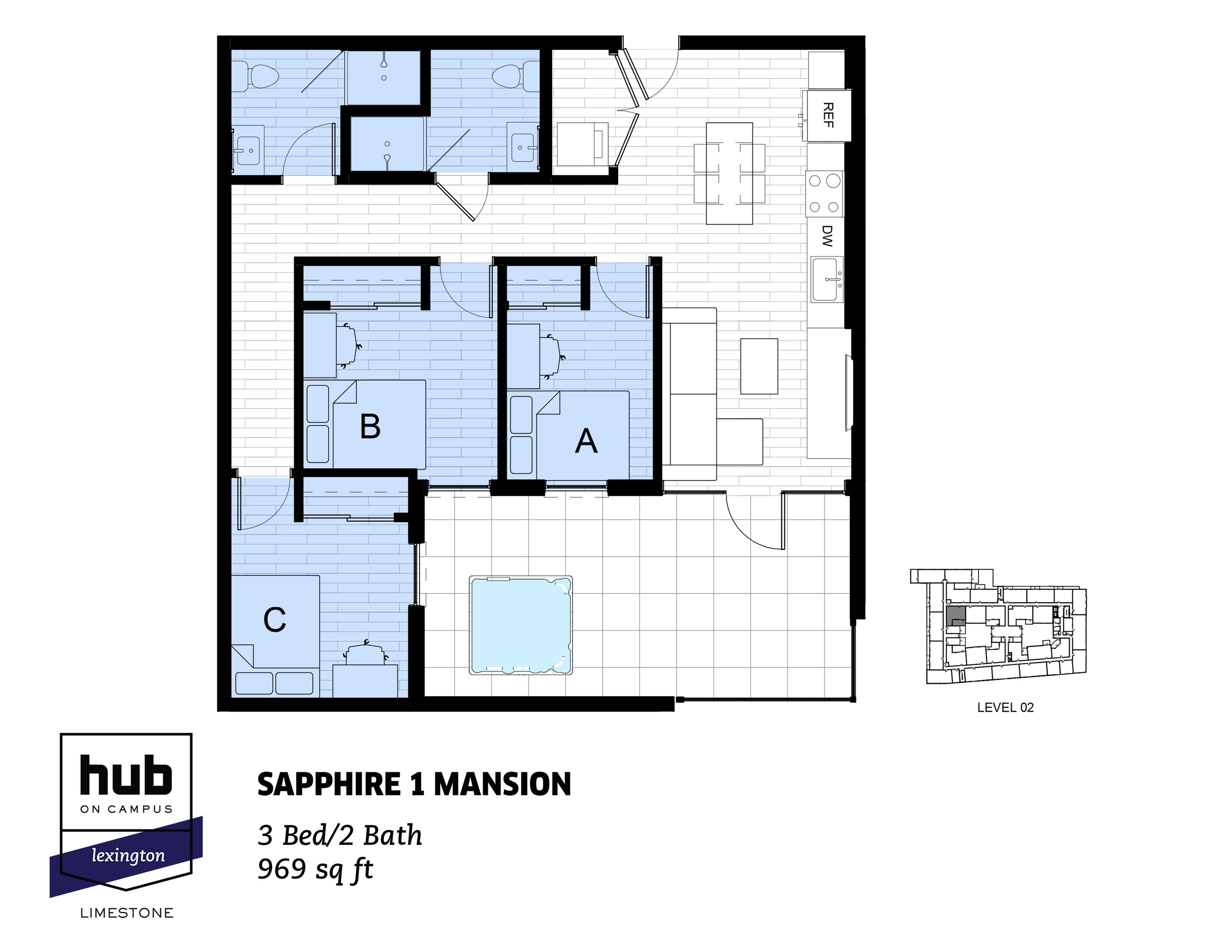 Sapphire 1 Mansion