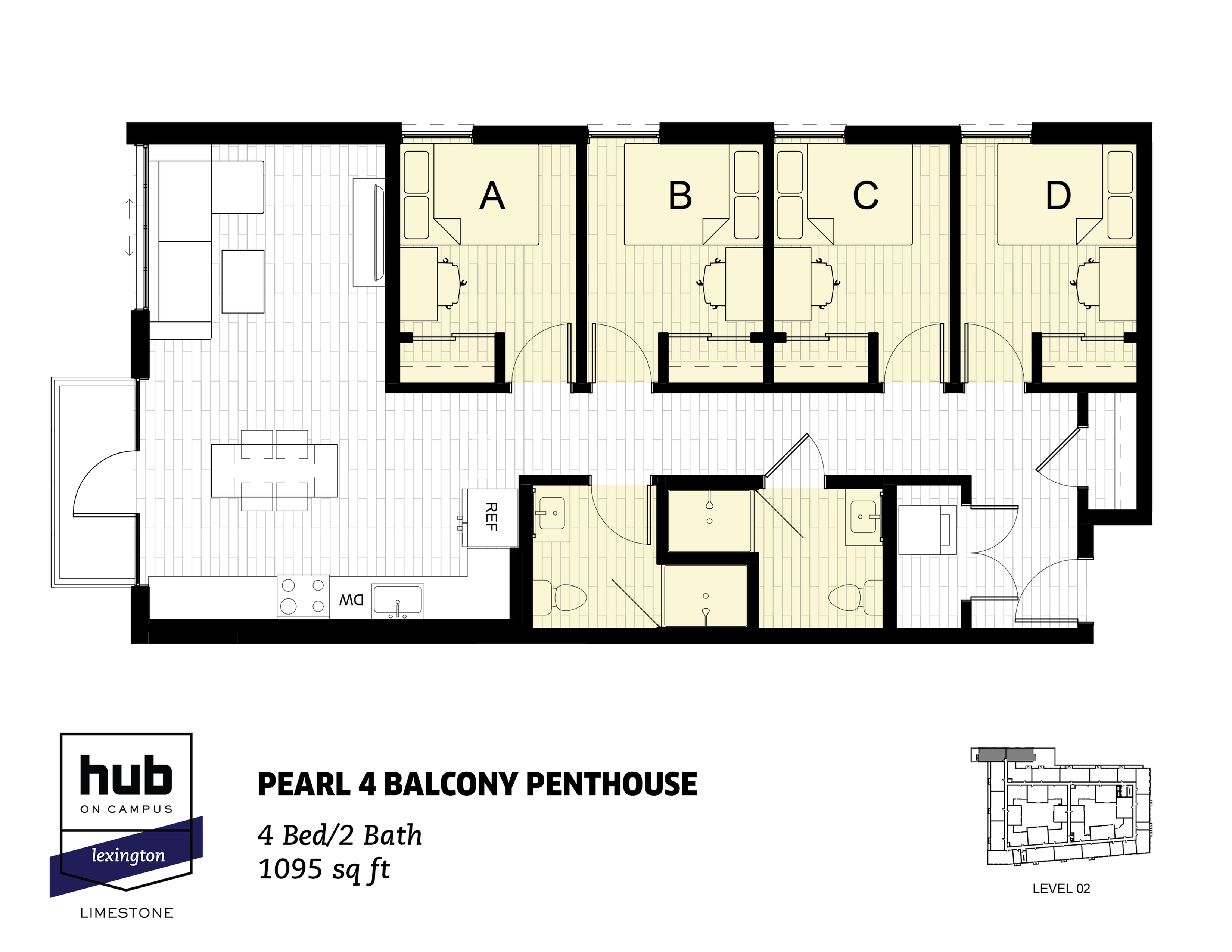 Pearl 4 Balcony Penthouse