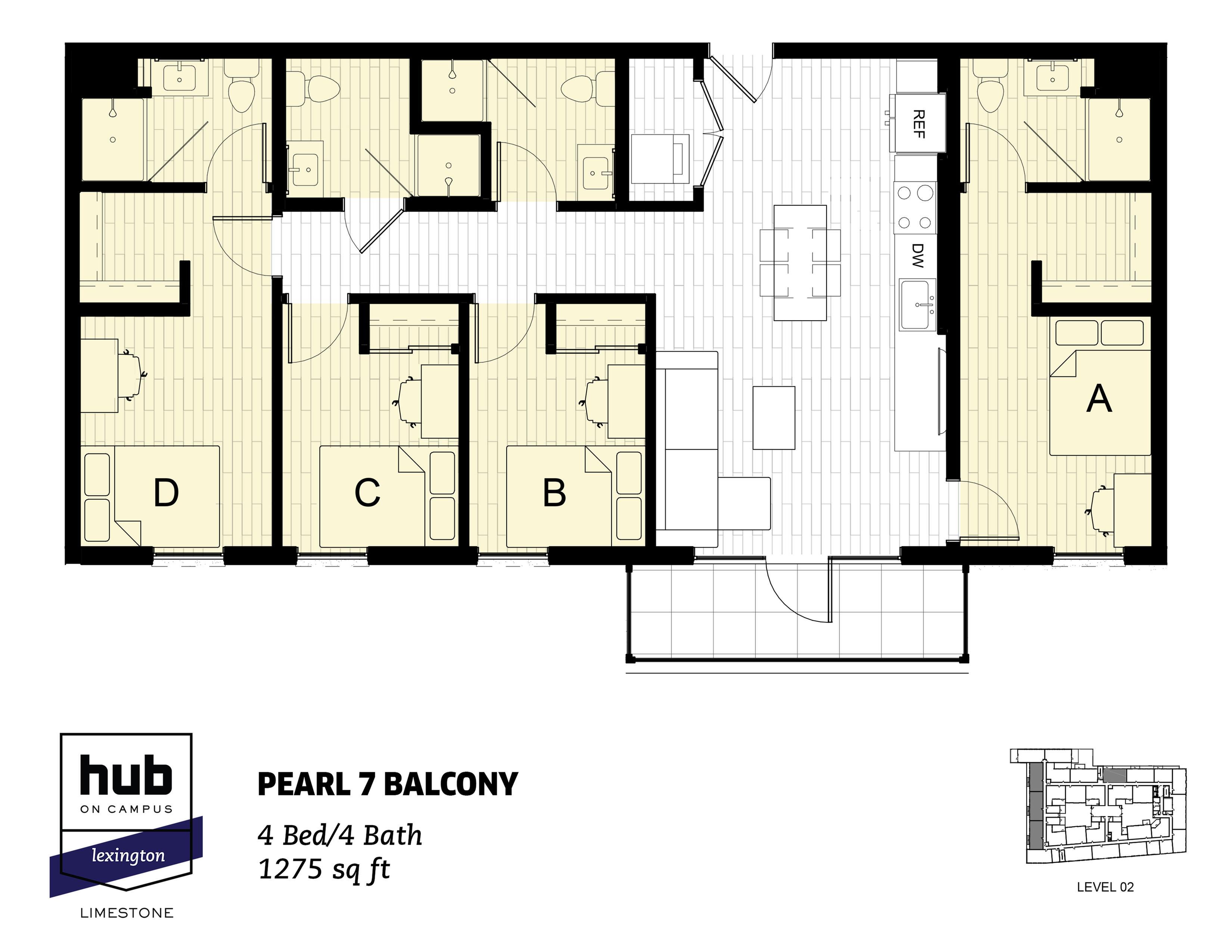 Pearl 7 Balcony