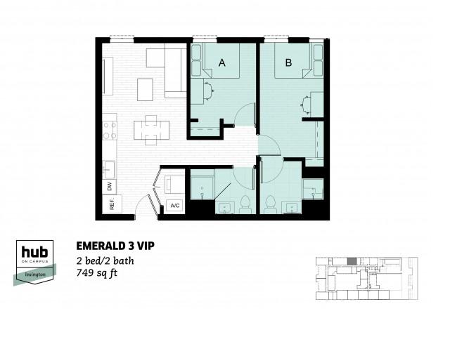 Emerald 3 VIP