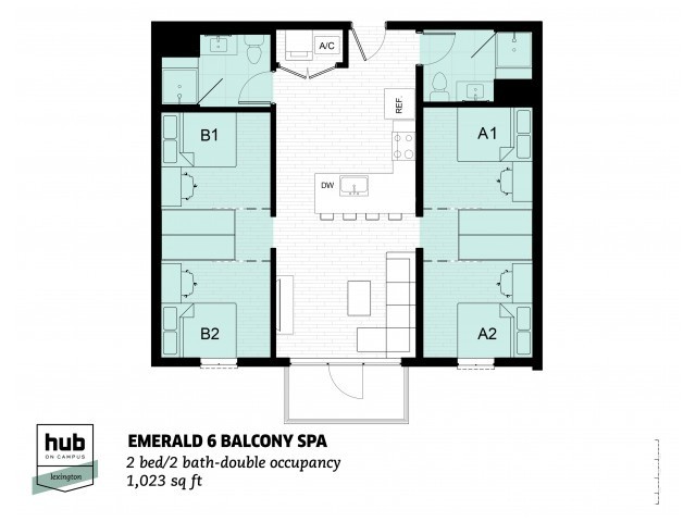 Emerald 6 Balcony SPA
