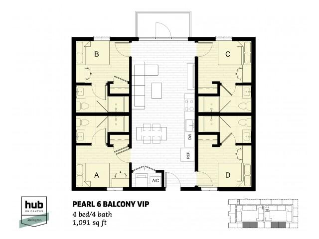Pearl 6 Balcony VIP