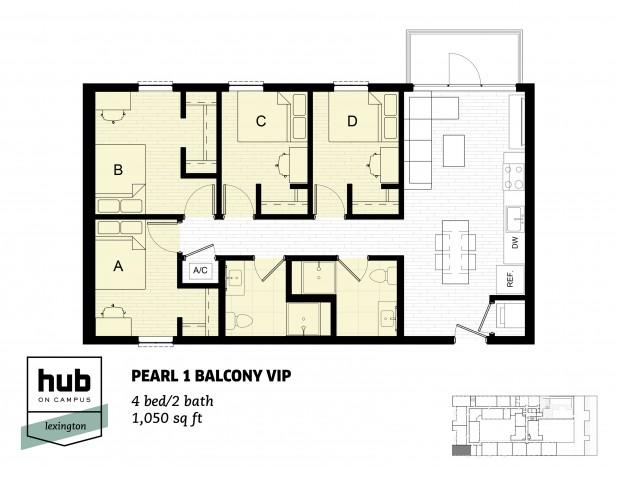 Pearl 1 Balcony VIP
