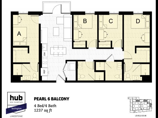 Pearl 6 Balcony