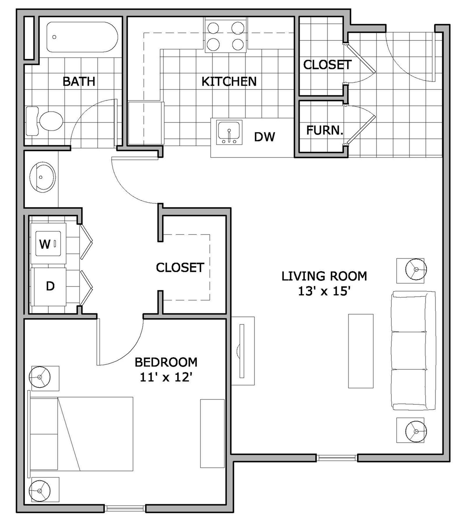 One Bedroom Apartments Springfield Mo: Apartment Springfield, MO