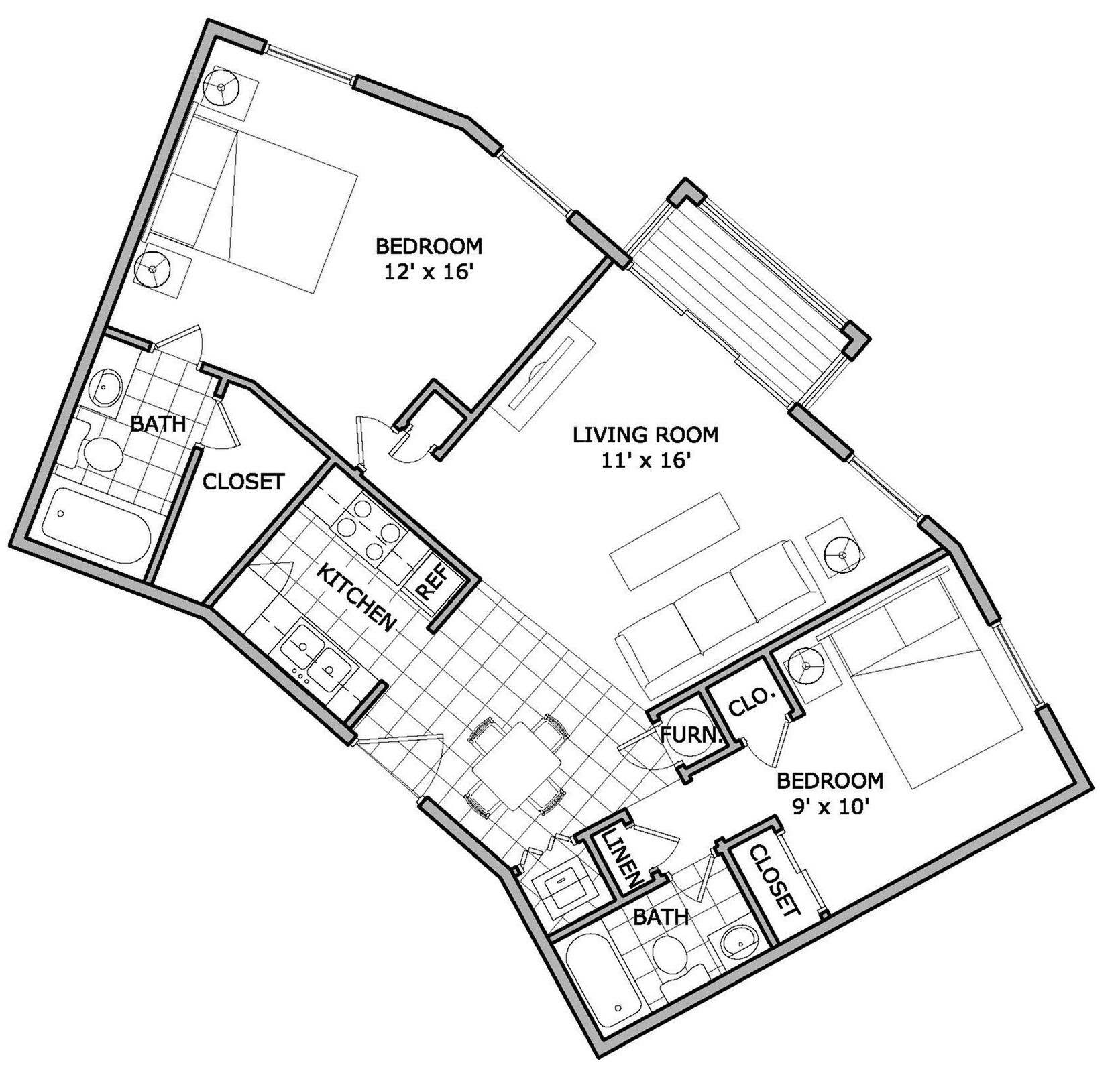 Phenomenal 2 Bed 2 Bath Apartment In Springfield Mo The Abbey Download Free Architecture Designs Rallybritishbridgeorg