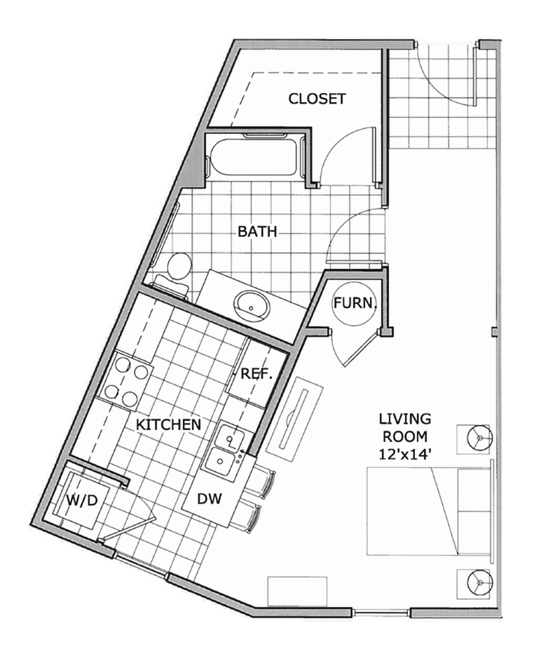 studio | The Abbey | Apartment Homes