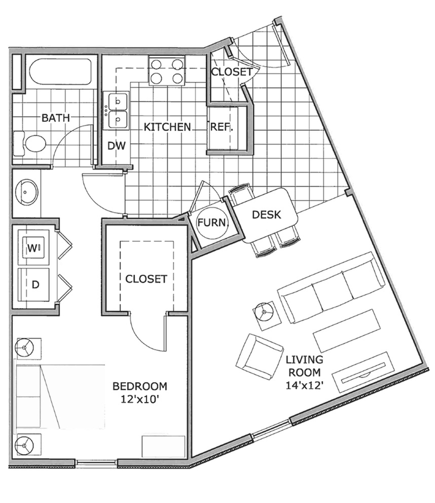 one bedroom | The Abbey | Swimming Pool