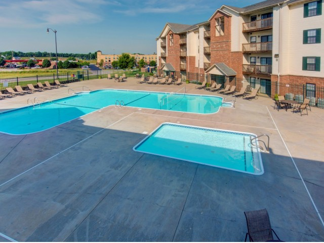 Orchard Park apartments outdoor swimming pool - amenity