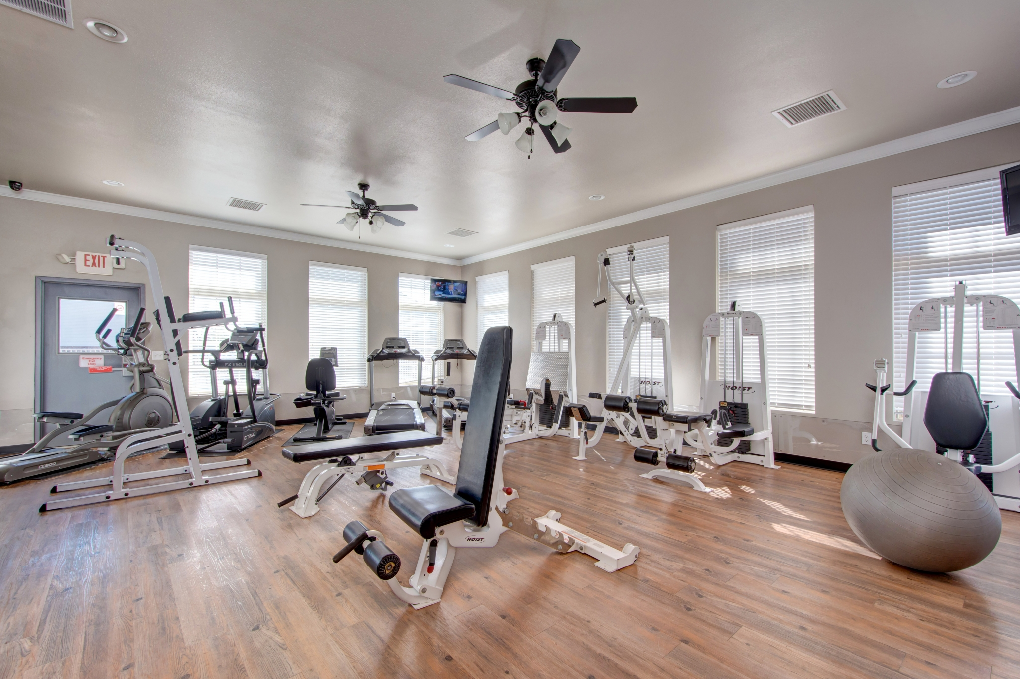 fitness center amenity