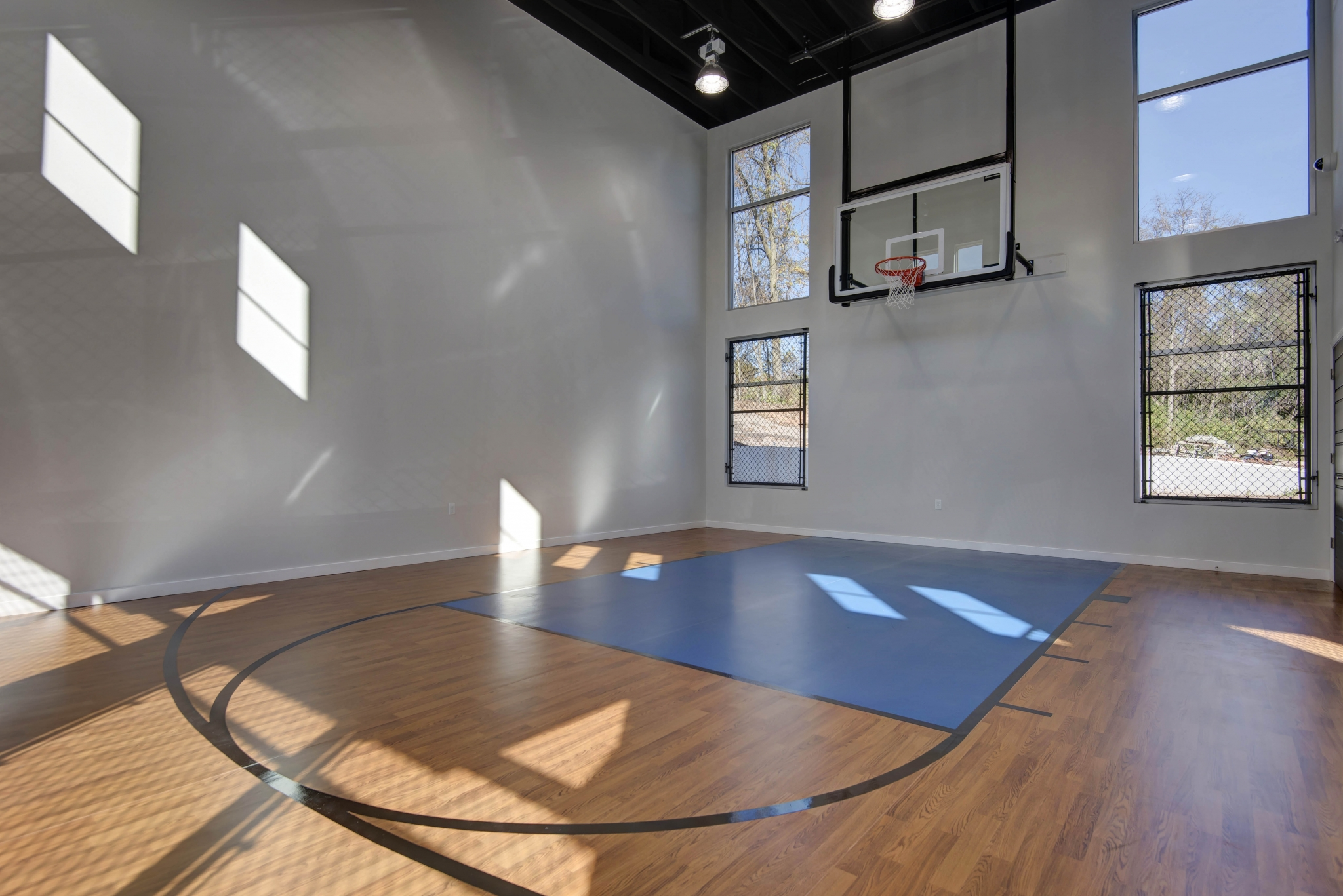 Township 28 Apartments indoor basketball court