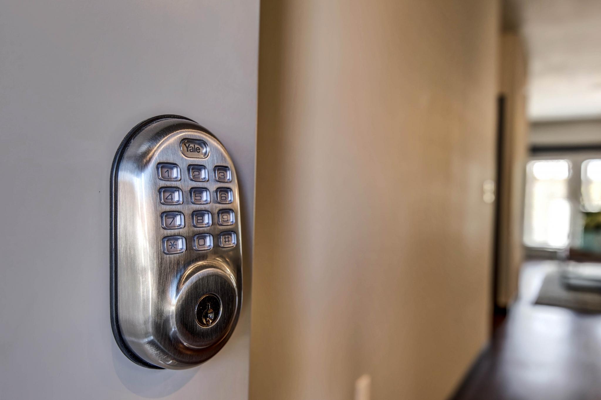 Township 28 Apartments smart technology - keyless entry