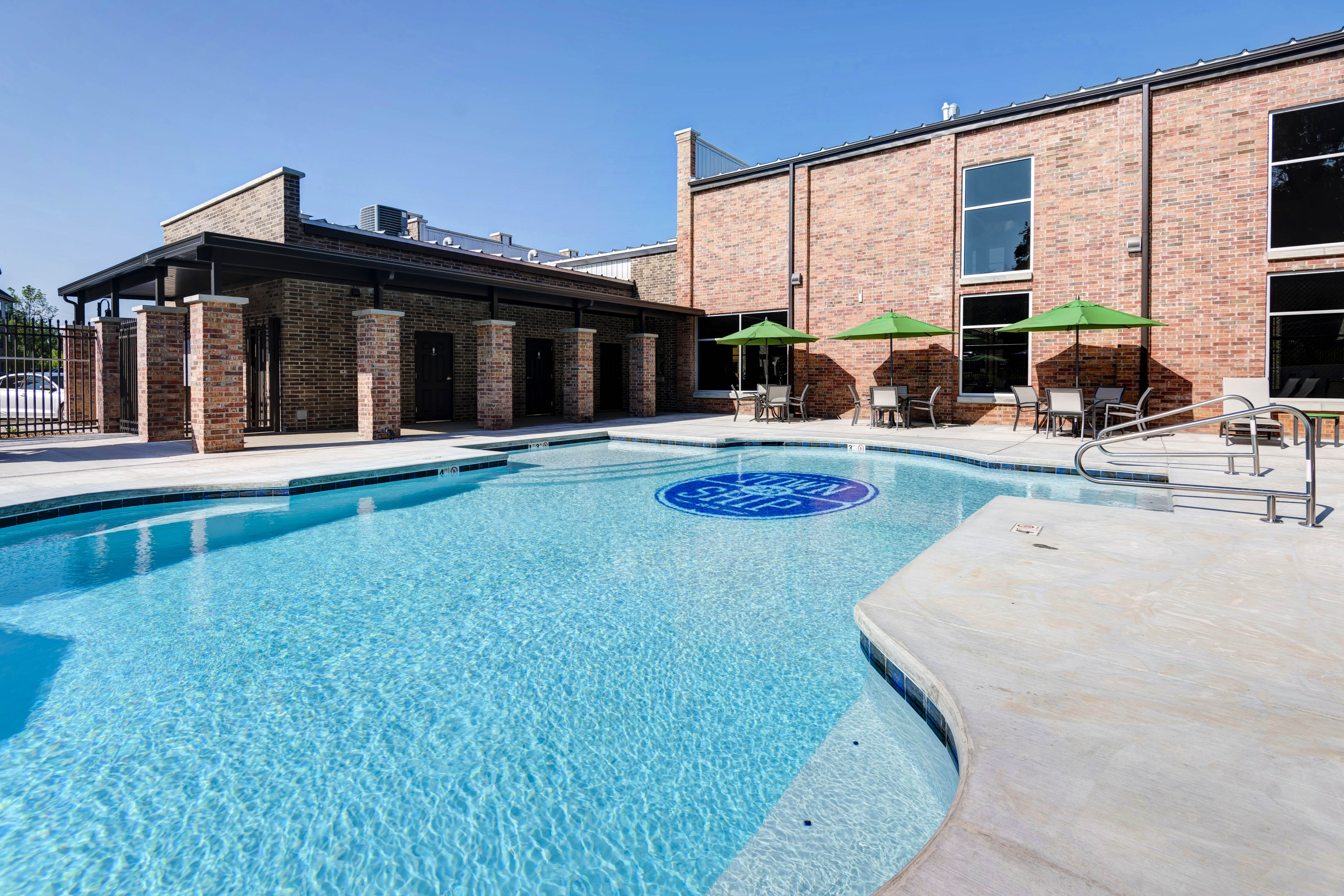 Township 28 Apartments pool and sun deck