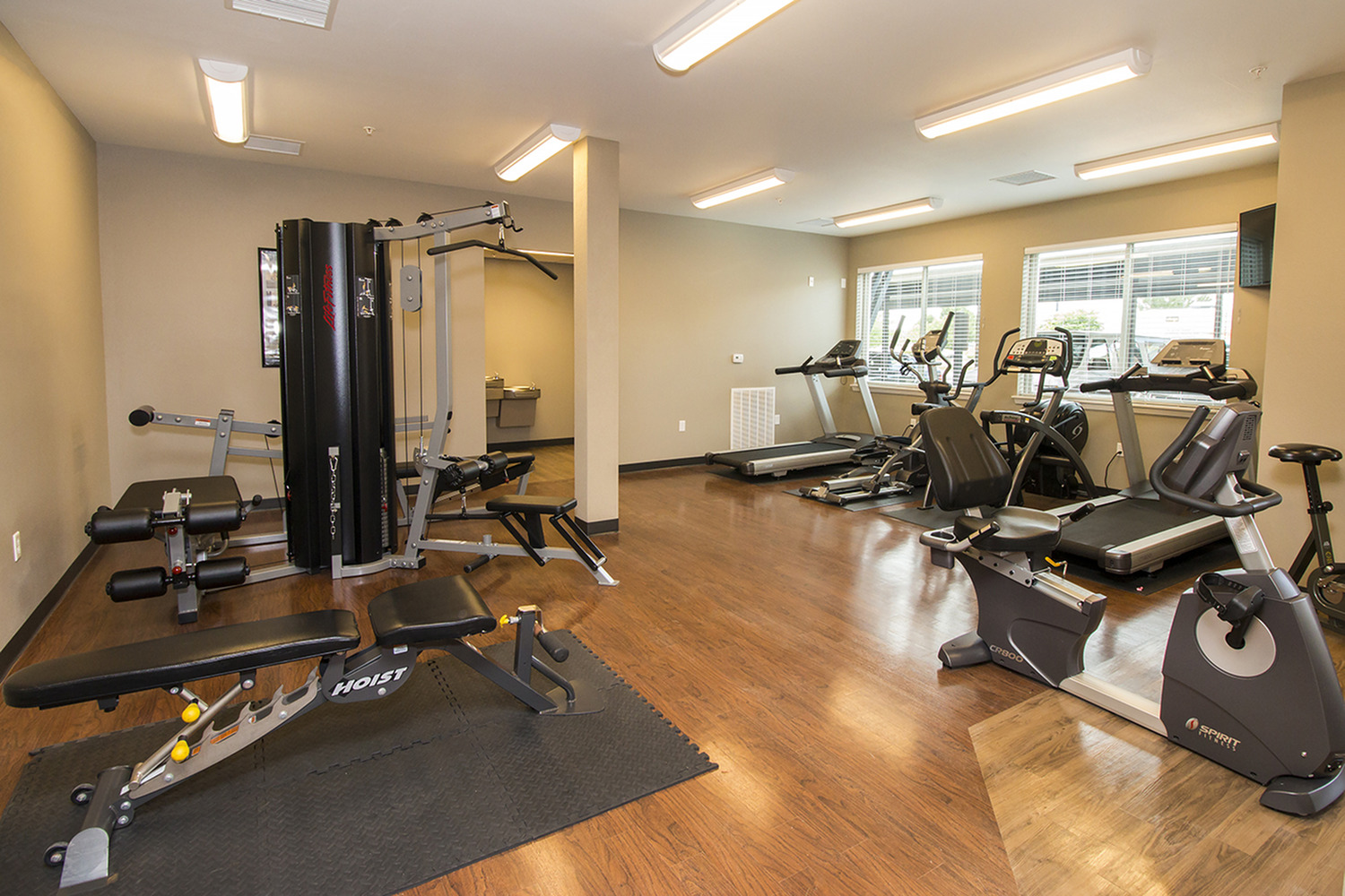 Coryell Commons 55+ fitness center