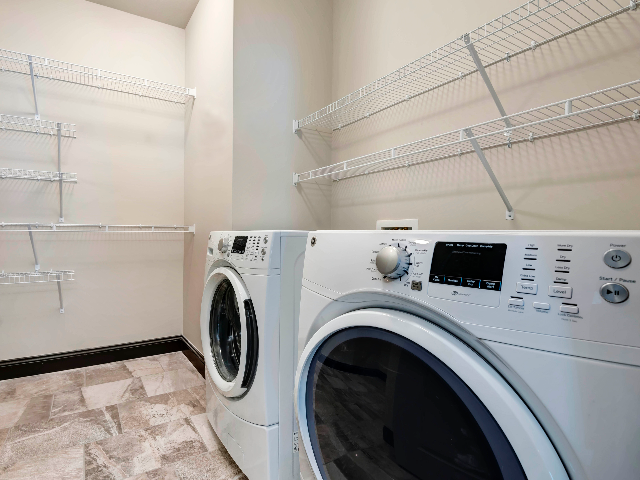 Washer and Dryer Amenity