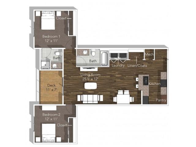 2 Bedroom C