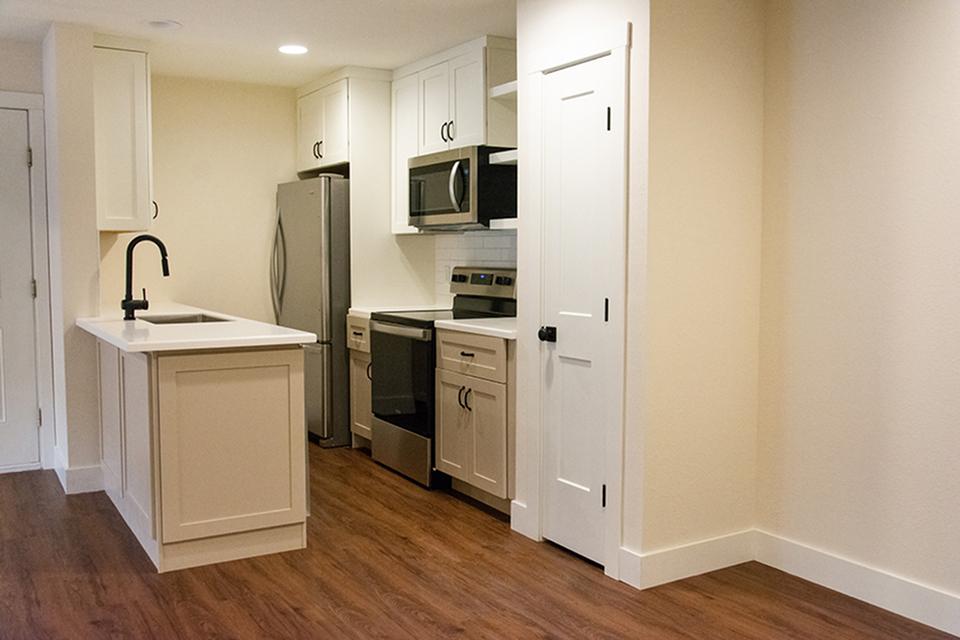 Highland Park Renovated Kitchen