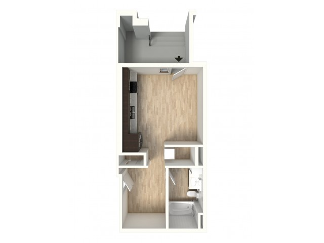 Floor Plan 3 | Apartments In Denver Colorado | Tennyson Place 2