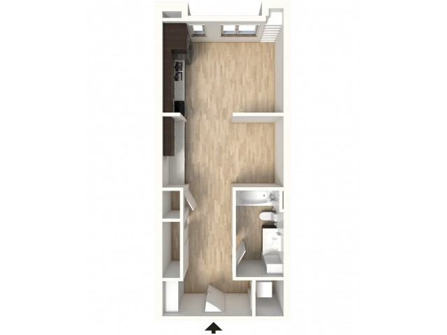 Floor Plan 6 | Apartments In Denver | Tennyson Place 2