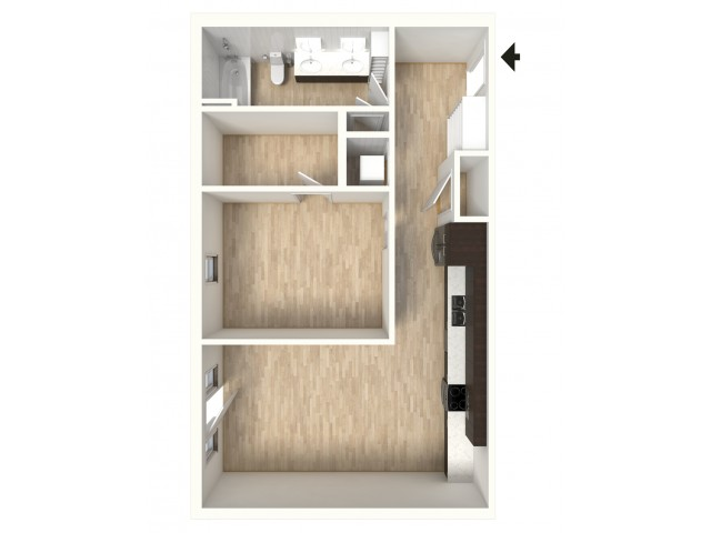 Floor Plan 15   Apartments For Rent In Denver   Tennyson Place 2