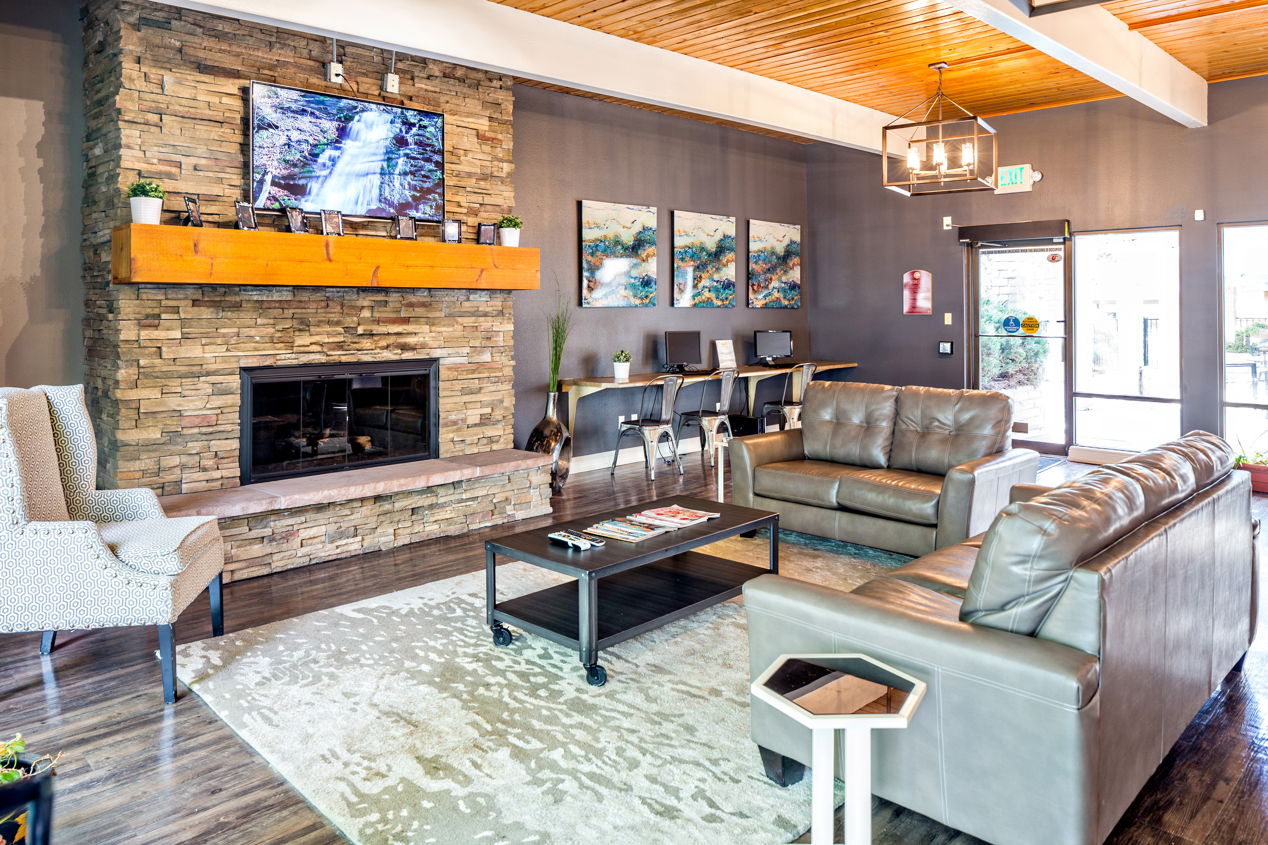 Image of TV Lounge for Aspen Park Apartments