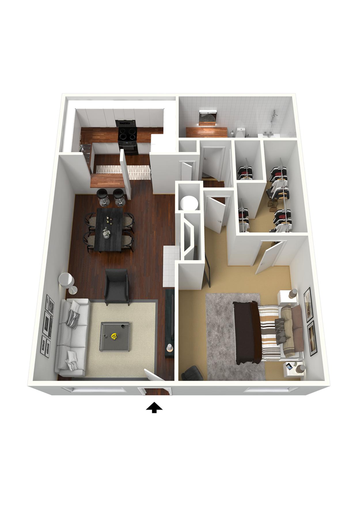 One Bedroom - Medium