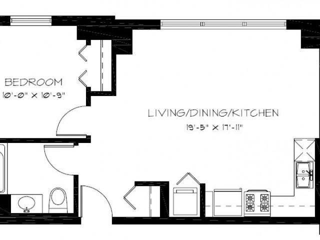 Chicago Studio/ Efficiency Apartments, 1-Bedroom, and 2-Bedroom ...