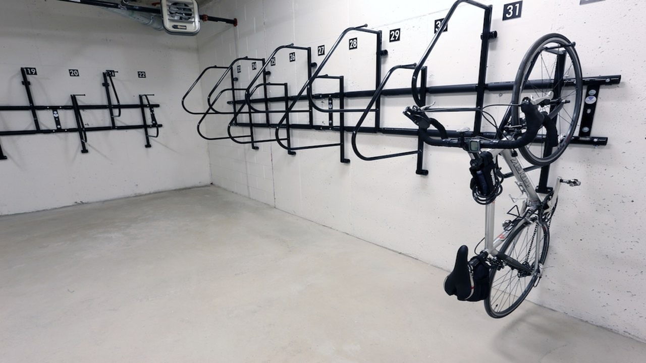 Resident Bike Storage Room