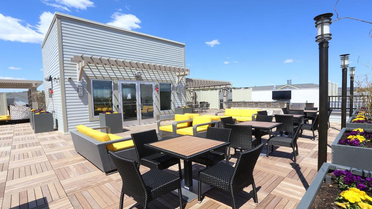 Rooftop Deck with Social Area and Outdoor Television