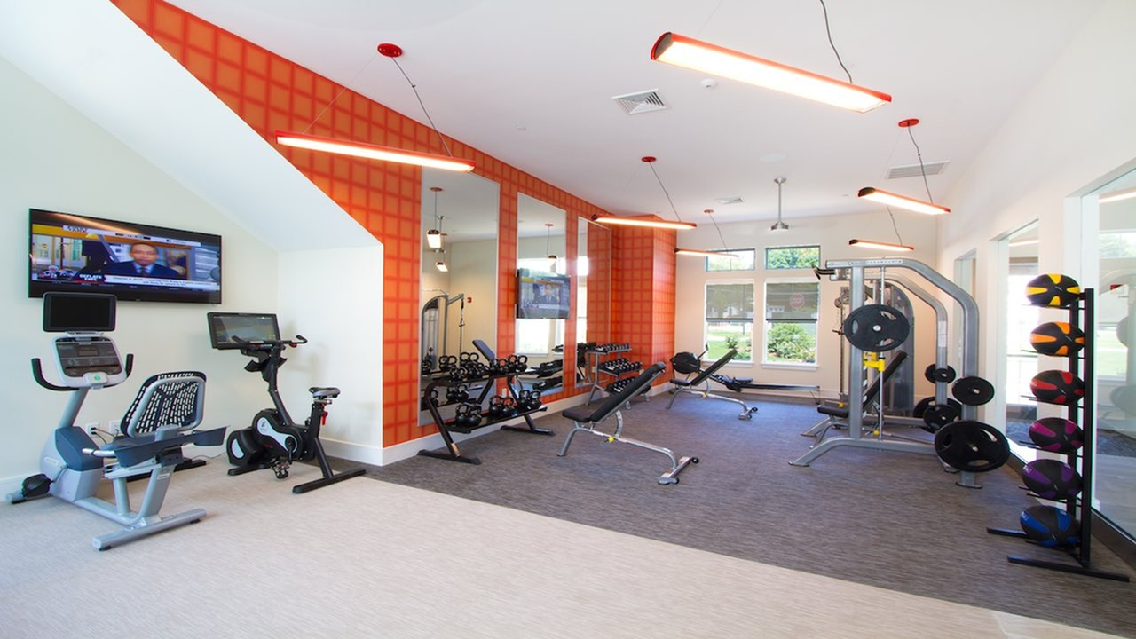 Fully-Equipped Fitness Center | Modera Natick Center