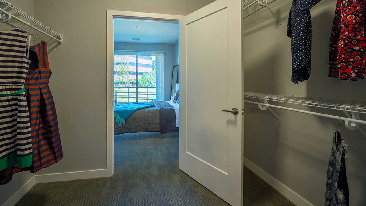 Walk-In Closets in Bedrooms | Modera Medford