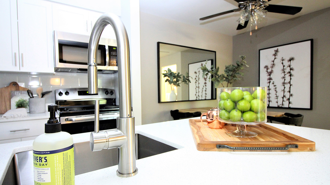 State-of-the-Art Kitchen with Large Farmhouse Sink