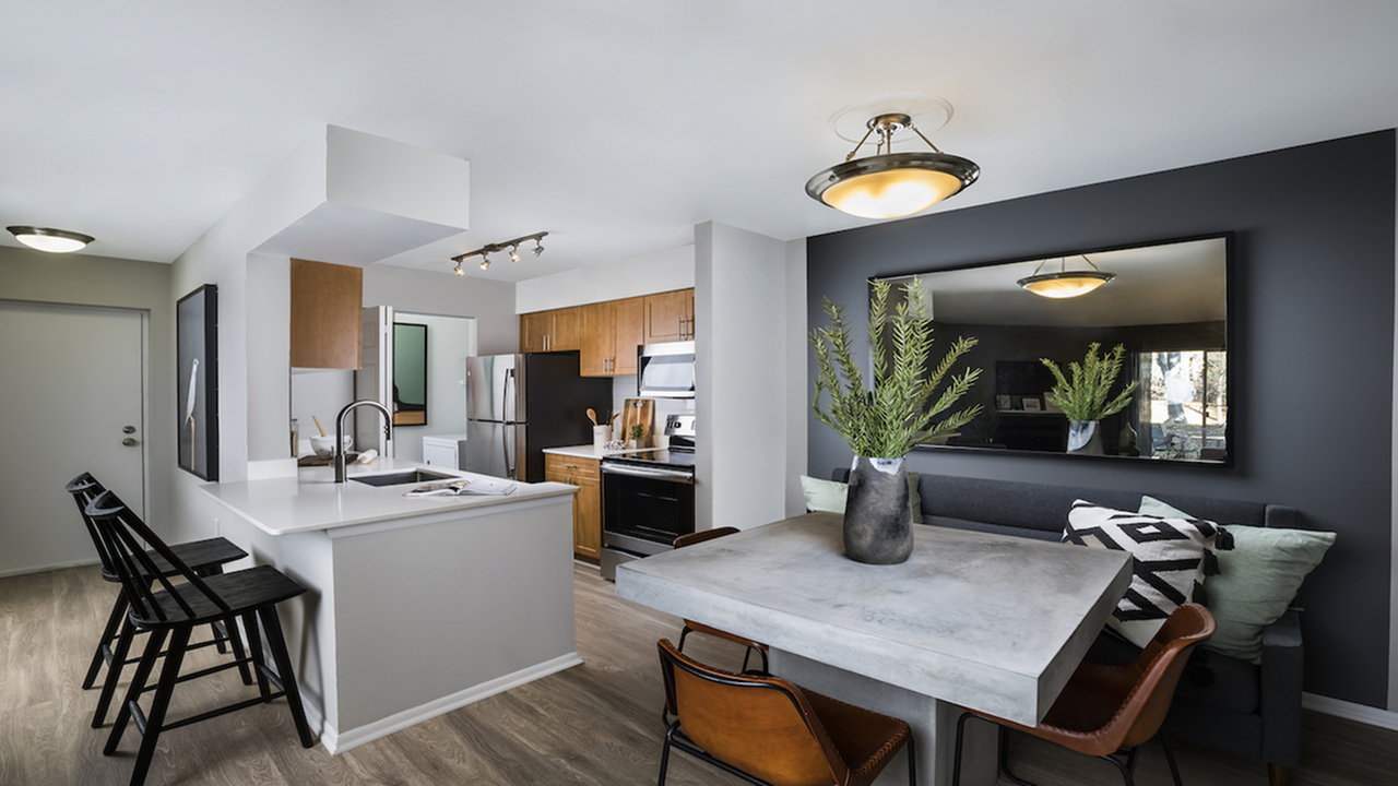 Upgraded, Open Concept Kitchen and Dining Area
